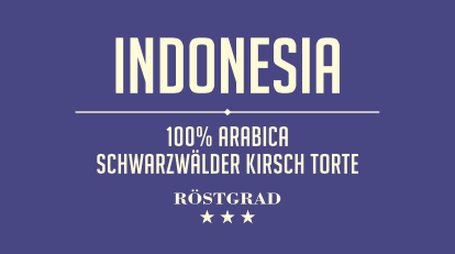 Indonesia - Arabica Kaffee